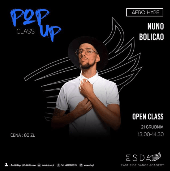pop up class nuno